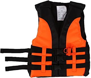 VGEBY Life Vest Buoyancy Swimming Jacket Swimming Boating Drifting Aid Jacket with Survival Whistle for Child
