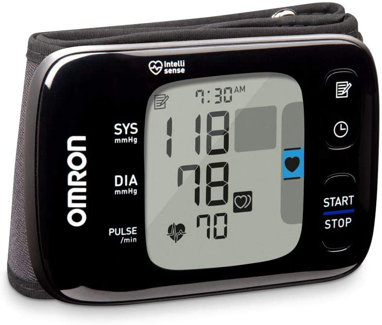 OMRON 7 Series Finally resale start Wireless Wrist Blood Monitor Special Campaign Black Pressure
