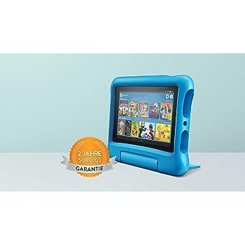 Fire7 Kids Edition-Tablet, 7-Zoll-Display, 16GB, blaue kindgerechte Hülle