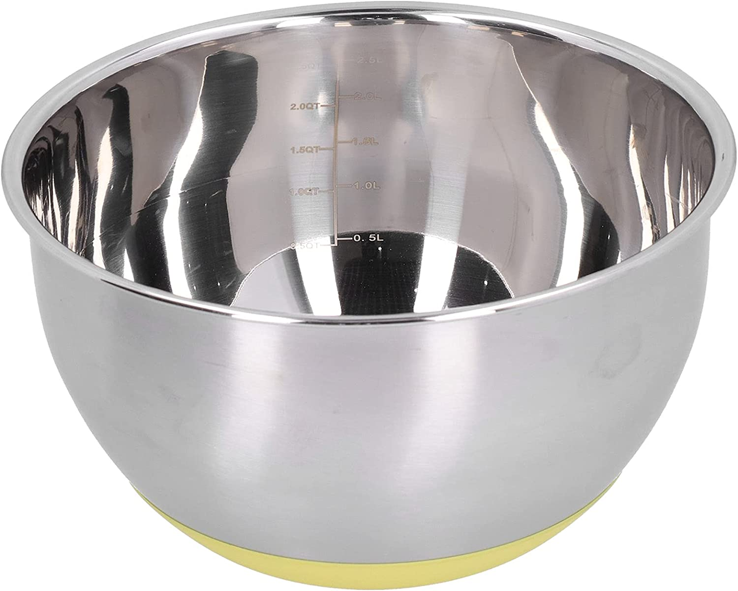 Chen-love1 Metal Mixing Bowl Long Beach specialty shop Mall Egg and Beating Scale Wi with