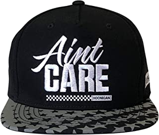 KB19 Aint Care Snapback - 100% Acrylic Adjustable Baseball Cap | Hide Your Bed Head in Style and Show Everyone That Your Forehead Knows How to get Rowdy.