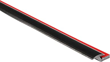 "Trim-Lok Fender Flare Edge Trim – EPDM Rubber Trim for Car and Truck Wheel Wells – Bonds with 3M Automotive-Grade Tape – 0.227"" Height, 25' Length"