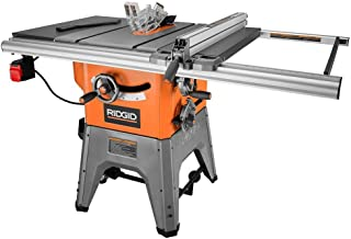 ridgid 10 portable table saw with stand