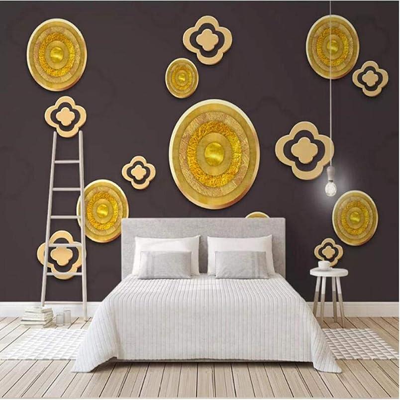 対象航海悪意YWWZ&N ?メーカーカスタム3 dゴールデンクラウド縁起の良いライン背景壁紙壁画