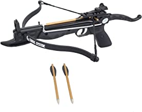 Southland Archery Supply Prophecy 80 Pound Self-Cocking Pistol Crossbow with Cobra System Limb with 3 Bolts