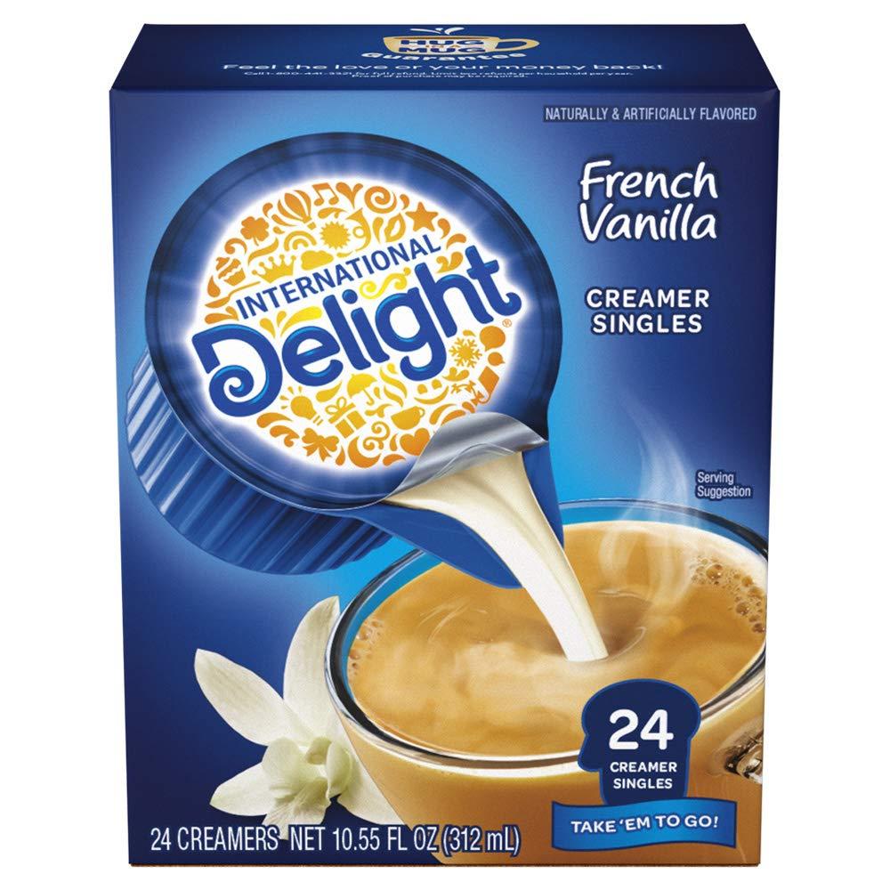 International Delight High quality French Vanilla Single-Serve Coffee Cream Selling rankings
