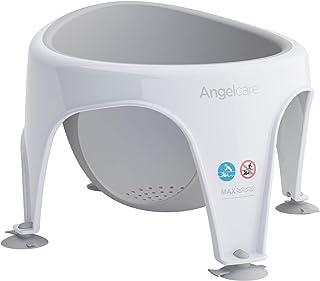 Angelcare - Silla de bebé para baño, suave al tacto gris