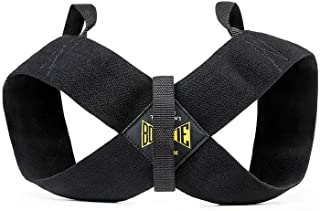 Spud Casual Bowtie Posture Support Brace Corrector No Rounded Shoulders Donnie Thompson (X-Large: 225 lbs. – 255 lbs.)