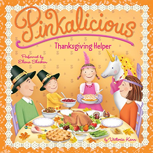 Pinkalicious: Thanksgiving Helper audiobook cover art