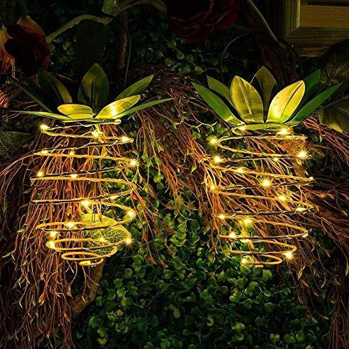 Zonne-licht String Led Ananas Licht String Outdoor Waterdichte Koperdraad Kroonluchter Thuis Lantaarn Tuin Decoratie Lamp Lantaarn Hanglamp