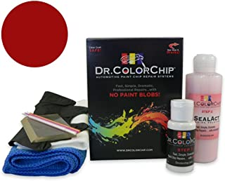 Dr. ColorChip Honda Civic Hybrid Automobile Paint - Rallye Red R-513 - Squirt-n-Squeegee Kit