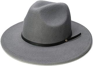 b2b591db00697 Chapeau Fedora en Laine à la Mode Automne Hiver Chaud Chapeau Fedora Style Européen  Américain Vintage