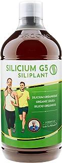 SILICIUM G5 SILIPLANT | Silicio Orgánico Liquido bebible | Aumenta la Producción de Colágeno | Suplemento ideal para Piel, Pelo y Uñas, Músculos, Huesos y Articulaciones