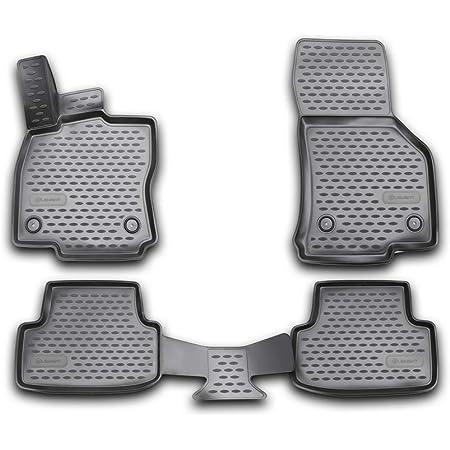 Volkswagen 5h106150082v Gummi Fußmatten Premium Allwettermatten 4x Gummimatten Mit Golf Schriftzug Nicht Für Mild Hybrid Mhev Pr Code 0k4 Auto