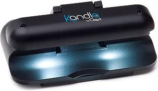 Ozeri Kandle LED Reading Light Designed for Books and eReaders, Black