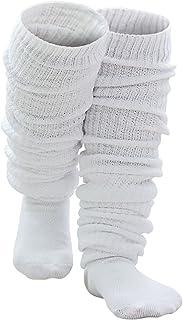 Soapow Dziewczyny dzianinowe luźne skarpety Leg pończochy mini spódniczka pończochy cosplay dzianinowe luźne skarpety na i...