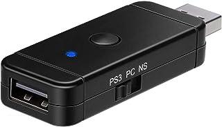 Adaptateur bleutooth sans fil de Manette pour Nintendo Switch/PS3/PS4/PS5/Xbox Controleur récepteur convertisseur pour Ni...