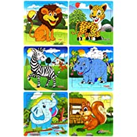 Blppldyci Preschool Educational Learning 20-Pieces Puzzles Toys