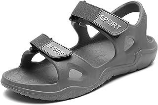 Sandali Sportivi Uomo-Scarpe estive con Fodera in Neoprene,Chiusura a Strappo in Gancio e Anello,Sandali con Velcro per Passeggiate,Sport allAria Aperta
