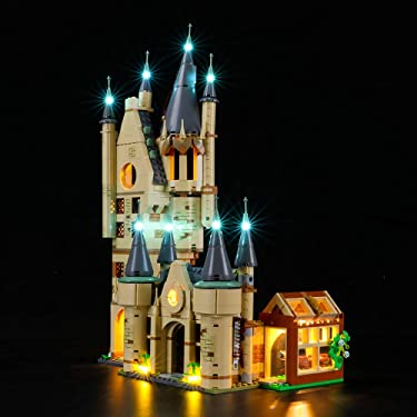 BRIKSMAX Led Lighting Kit for Hogwarts Astronomy Tower - Compatible with Lego 75969 Building Blocks Model- Not Include The Lego Set
