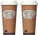 Life Story 2 Termos caffè - Tazza per Caffee e Te, Tazza Termica da Viaggio, Isolato, Sen...