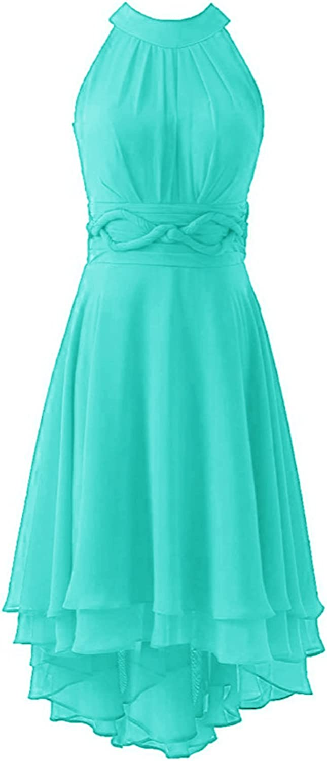 Ruiyuhong Short Maid Honor Country Bridesmaid Dress Turquoise 14