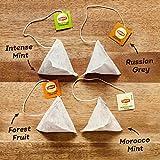 Lipton Geschenk-Teebox gefüllt mit 40 leckeren Pyramidenteebeuteln