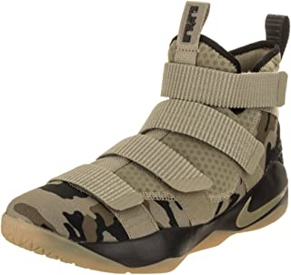 Nike Lebron Soldier Xi Size 10 Mens Basketball Neutral Olive/Neutral Olive-Sequoia Shoes