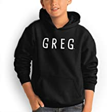 ShanqupU Danny Gonzalez Teenager Hipster Hoodie Fitness Pullover Black