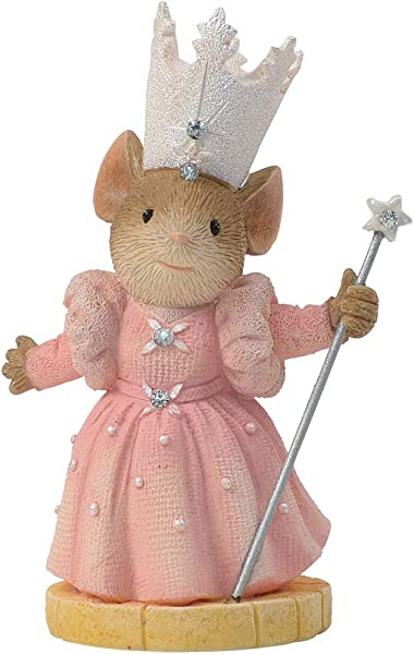 Enesco Tails With Heart Glinda The Good Witch Mouse Home Decor