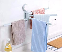 Fokky Badkamer Accessoires Bad Handdoek Ring Houder Handdoek Hanger Geen Boren Noodzakelijk voor Kasten Jas Robe Rack Niet...