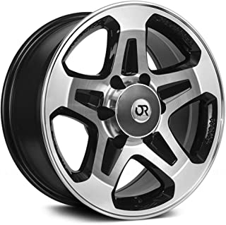 RTX Courier (for Sprinter), 16X7, 6X130, 30, 84, Black MACHINED 081927