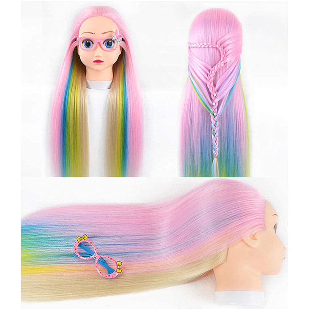 Professional training 4 years warranty head High Temperature Gifts Colorful Firber Hair