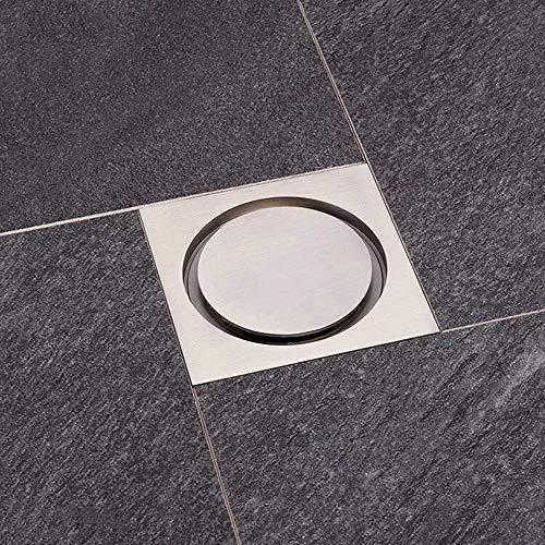 QuRRong Bodenablauf Bad Bodenablauf Deckelkern WC Kanalisation Waschmaschine Küche Badezimmer Mit Großem Hubraum für Hotel Badezimmer (Color : B, Size : ONE Size)