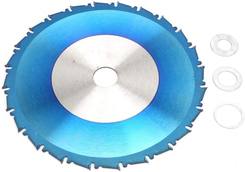 LKK-KK Recubrimiento circular azul Saw Propósito hoja delgada ranura a General de hoja de sierra de corte de madera de la hoja de disco for la amoladora angular