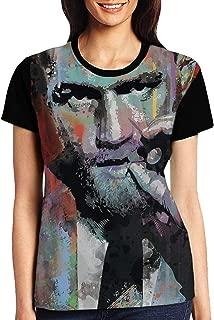 HADIHADI Women's T-Shirts Short Sleeve t Shirt for Women(XXL) Black