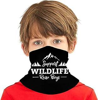 Wthesunshin Bufanda Niños Calentadora De Cuello Apoya a Wildlife Raise Boys Bufanda de Invierno Bandana Pasamontañas Calen...