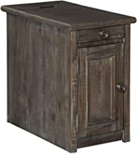 Signature Design by Ashley Wyndahl Chair Side End Table, 14 W x 24 D x 23 H, Rustic Brown