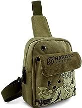 E.a@Market Anime Naruto Canvas Messenger Bag Attack on Titan Shoulder Bag