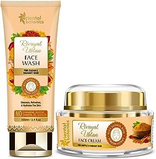 Oriental Botanics Rivayat Ubtan Face Wash 100ml + Face Cream 50g