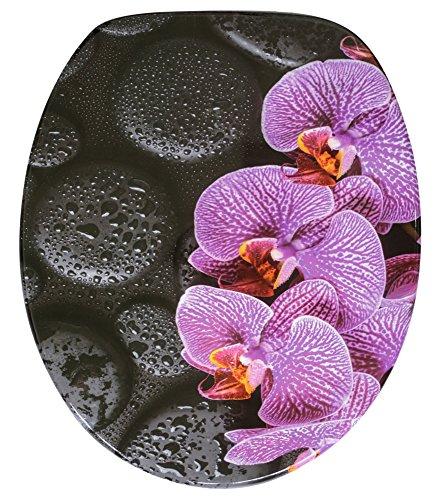 WC Sitz, hochwertige Oberfläche, einfache Montage, stabile Scharniere, Madeira