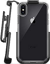 Encased Belt Clip Holster for Spigen Ultra Hybrid Case - iPhone X/iPhone Xs (case not Included)