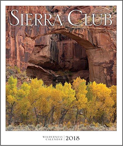 Price comparison product image Sierra Club Wilderness Calendar 2018