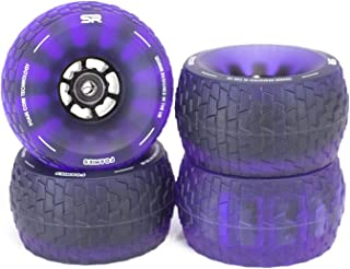 Slick Revolution Electric Skateboard Wheels Foamies 120mm   Patent Pending Foam Core   78A Translucent Urethane   Revolutionise Your Ride …