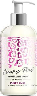 Coochy Plus Intimate Shaving Cream SWEET BLISS For Pubic, Bikini Line, Armpit - Rash-Free With Patent-Pending MOISTURIZIN...