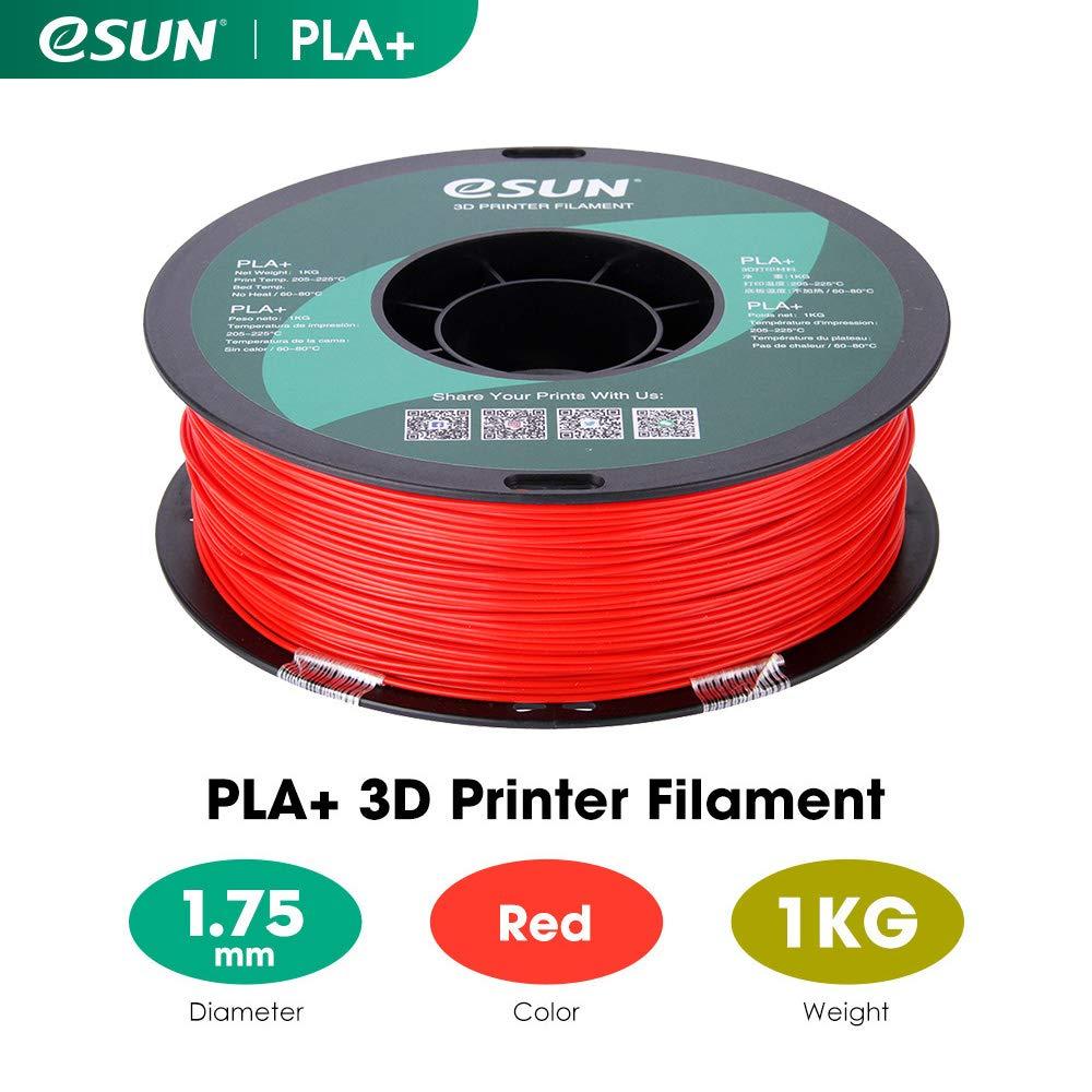 Beige eSUN PLA Plus Filament 1.75mm PLA Pro PLA+ 3D Printer Filament 1KG 2.2 LBS Dimensional Accuracy +//- 0.03mm Spool 3D Printing Consumables for Most FDM 3D Printers