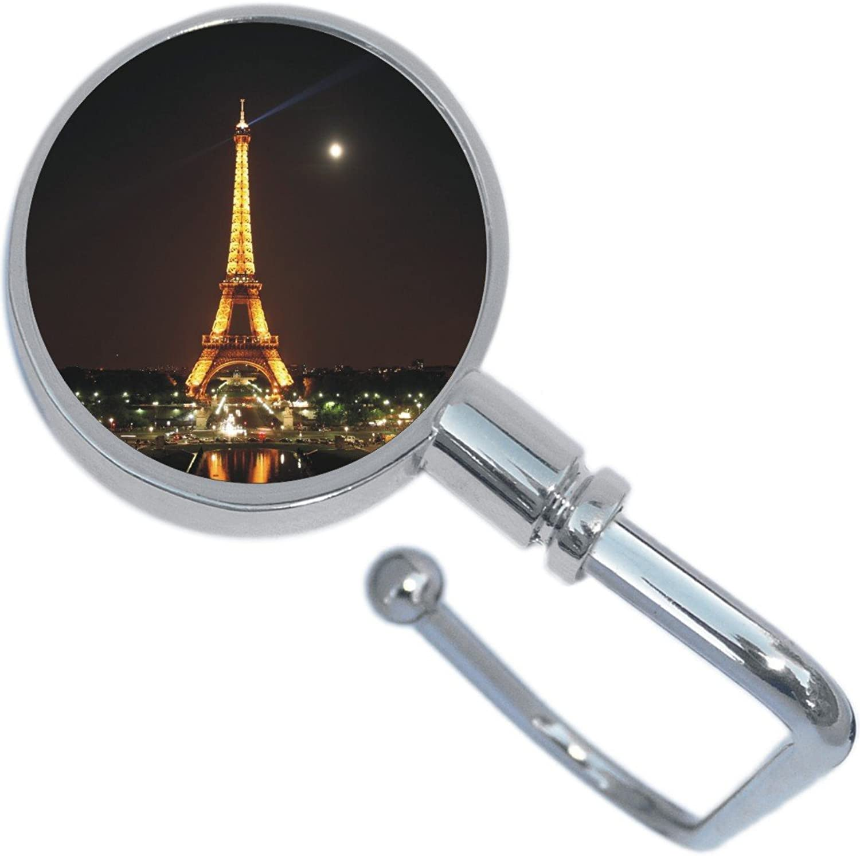 Eiffel Tower Night Lights Purse Hanger