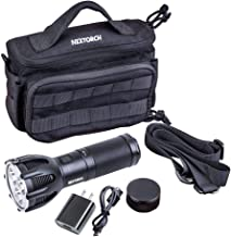 NEXTORCH 5600 Lumen Ultra Bright Rechargeable Search Torch with 480 Meters Beam Distance for Hunting Searching Recue and O...