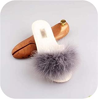 Spring Summer Autumn Winter Home Cotton Plush Slippers Women Indoor Floor Flat Shoes