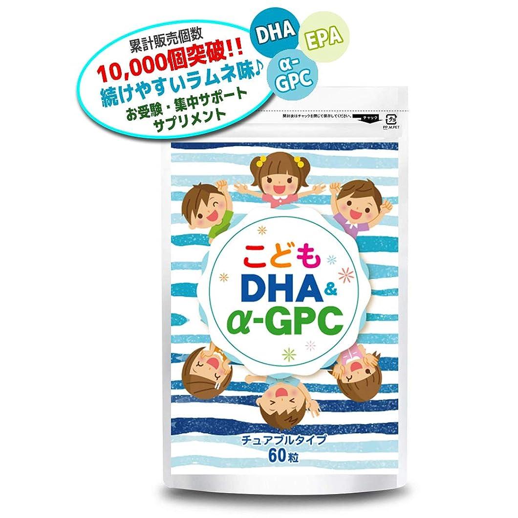 二十マグ障害こども DHA&α-GPC DHA EPA α-GPC ホスファチジルセリン 配合 【集中?学習特化型サプリメント】 60粒約30日分